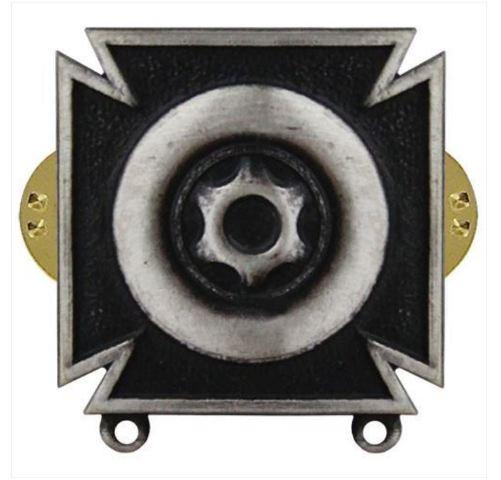Vanguard US Army Regulation Size Driver & Mechanic Badge Silver Oxidized Finish