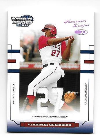 VLADIMIR GUERRERO 2004 Donruss World Series American League patch /27