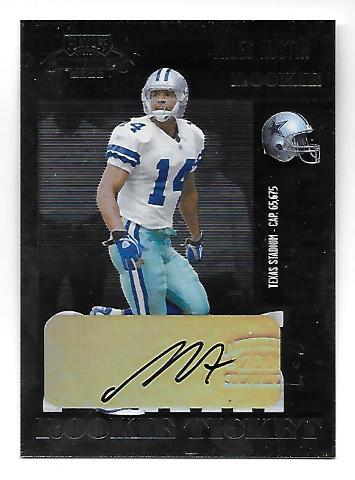 MILES AUSTIN 2006 Playoff Contenders Rookie Ticket Autograph #219 auto