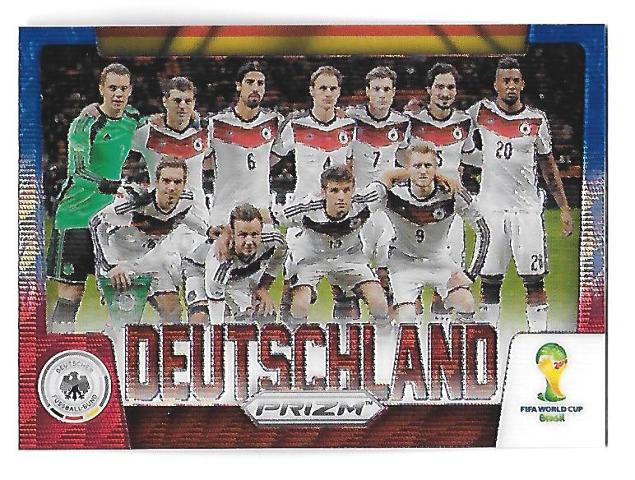 2014 Panini Prizm World Cup Team Photos Prizms #15 Deutschland