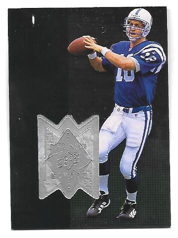 PEYTON MANNING 1998 Upper Deck UD SPX Finite #311 The New School /4000 Colts RC