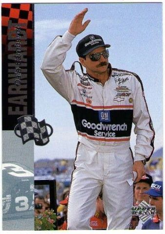 DALE EARNHARDT SR 1996 Upper Deck Road To The Cup Card HOF Winston Cup BV$30