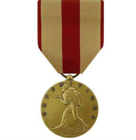 Vanguard Full Size USMC Marine Corps Expeditionary Service Medal Award