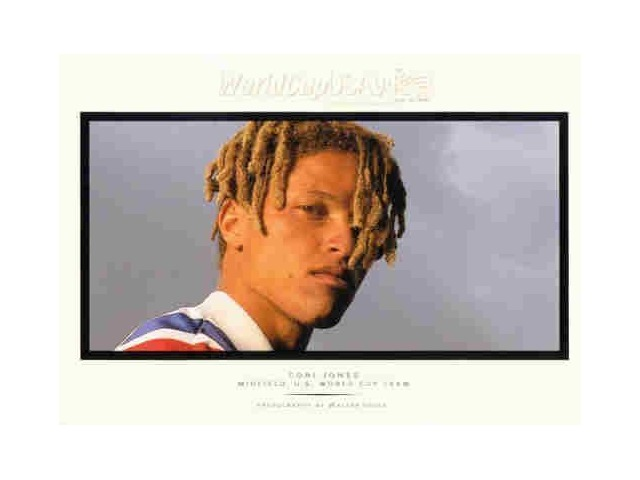 COBI JONES 1994 Upper Deck World Cup Walter Ioos Edition Card #WI4 U.S. Team