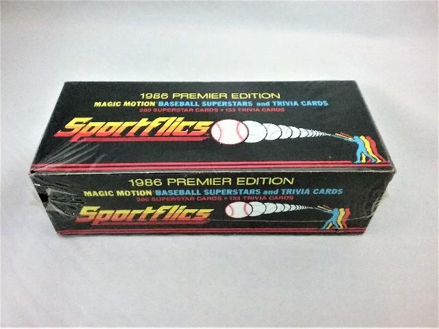 1986 Sportflics Baseball Factory Set Sealed