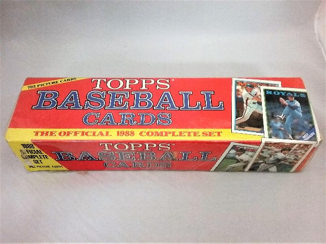 1988 Topps Baseball Cards Complete 792 Picture Cards Factory Sealed Set