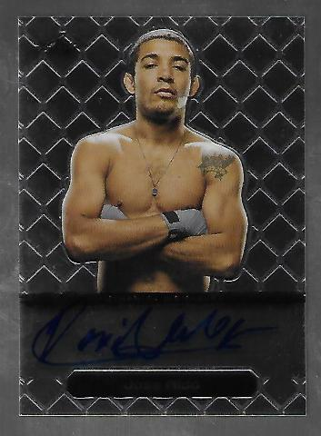 JOSE ALDO 2011 Leaf MMA Metal UFC Authentic Signature auto #GA_JA_1