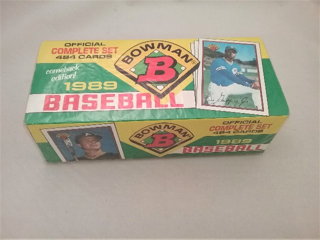 1989 Bowman Baseball Factory Set Sealed