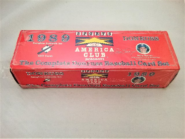 1989 Donruss Baseball America Factory Set Sealed