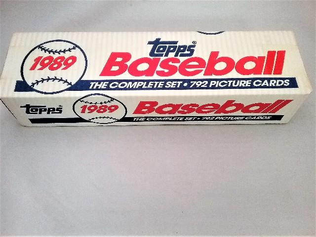 1989 Topps Baseball White Factory Set Sealed