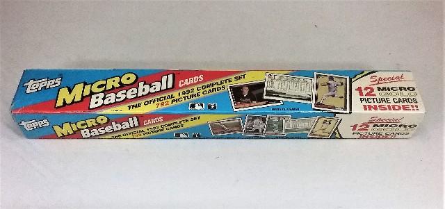 1992 Topps Baseball Micro Factory Set Sealed
