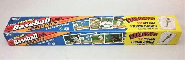 1993 Topps Baseball Micro Factory Set Sealed