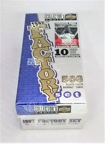 1997 Upper Deck Collector's Choice Baseball Factory Set Sealed