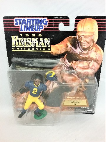 1998 Series Charles Woodson Starting Lineup Heisman collection 1997 University of Michigan Wolverines
