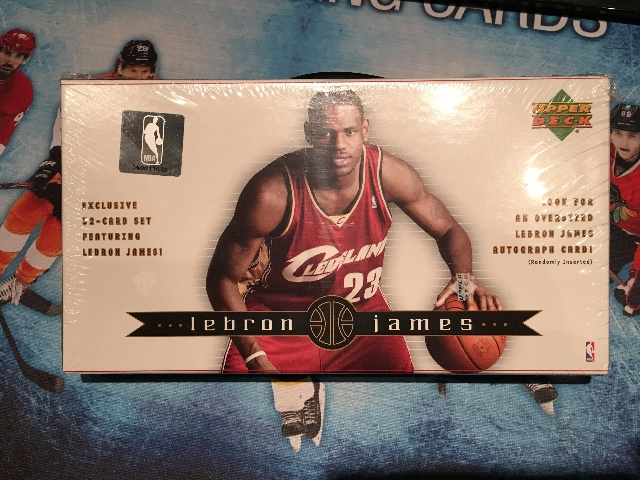 Lebron James 2003 Upper Deck 32 Card Rookie Box Set (unsealed)