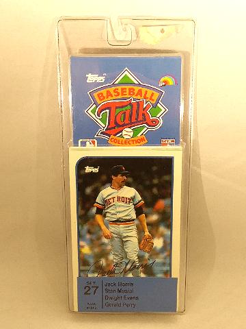 1989 Topps Baseball Talk Collection Set 27 Soundcards NIP NOS Stan Musial