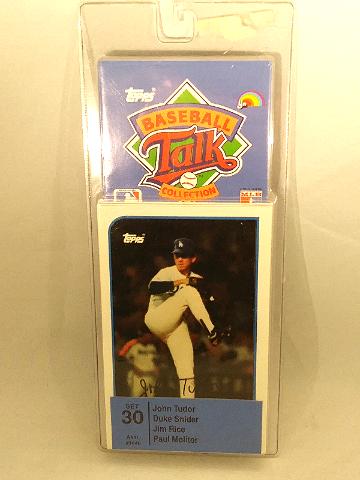 1989 Topps Baseball Talk Collection Set 30 Soundcards NIP NOS John Tudor