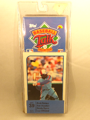 1989 Topps Baseball Talk Collection Set 39 Soundcards NIP NOS Lou Whitaker