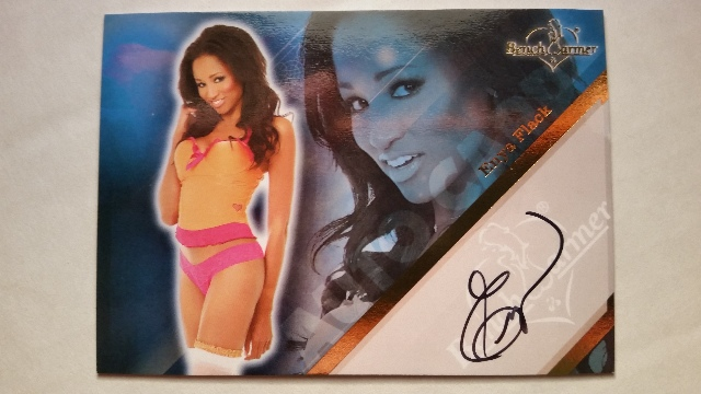 Enya Flack 2011 Bench Warmer Limited Autograph Auto On Card