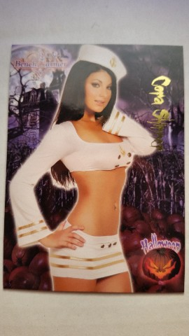 Cora Skinner 2008 Bench Warmer Limited Halloween #5 Playboy