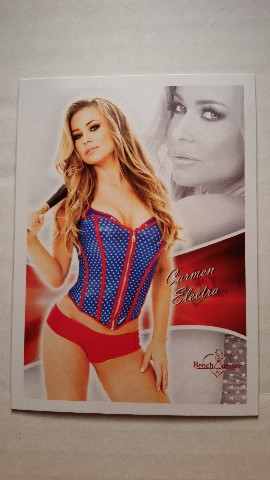 Carmen Electra 2013 Bench Warmer #1 Playboy Playmate Model Actress