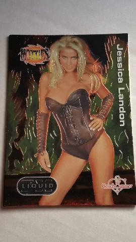 Jessica Landon 2003 Bench Warmer Series 2 Liquid FX Hotties #4 The Last Call