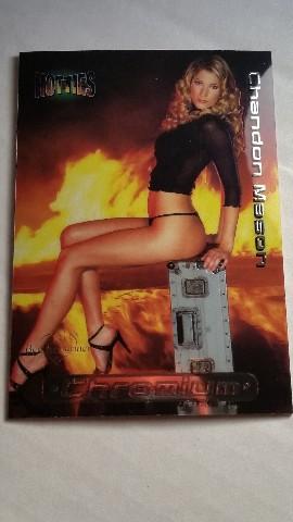 Chandon Chandi Mason 2002 Bench Warmer Hotties Chromium #4 Maxim Vollyball