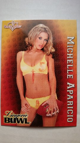 Michelle Aparicio 2004 Bench Warmer Series Two #242  Lingerie Bowl SP LB 4/12