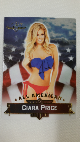 Ciara Price 2013 Bench Warmer Hobby All-American #24 Playboy Playmate