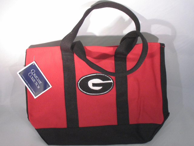 "Collegiate Collection University of Georgia Tote Purse Bag 9.5"" x 13"" NWT"