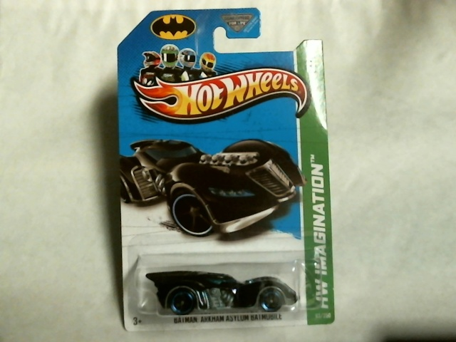 Hot Wheels 2013 HW Imagination Batman Arkham Asylum Batmobile 63/250 X1711