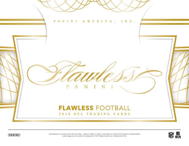 5 Spot 2016 Flawless Football Snake Break 2-Hit Saturday 6/10/17 at 7:30pm