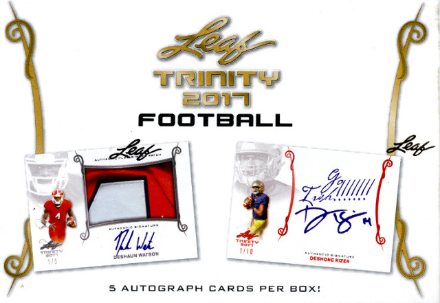 26 Spot 2017 Leaf Trinity Football Random Letter Break - TBD when it sells out