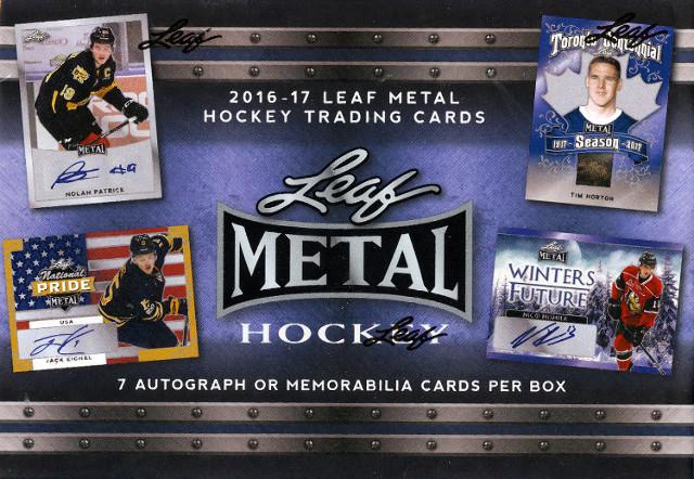 26 Spot 2017 Leaf Metal Hockey Random Letter Break - TBD when it sells out