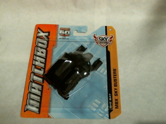 Matchbox 2012 MBX Sky Busters Batman The Bat Dark Knight Rises  W5323 Mattel