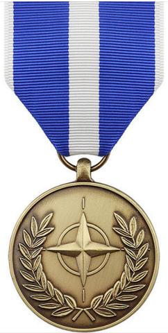 Vanguard Full Size NATO Kosovo Medal Award