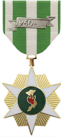 Vanguard Full Size Medal: Vietnam Campaign