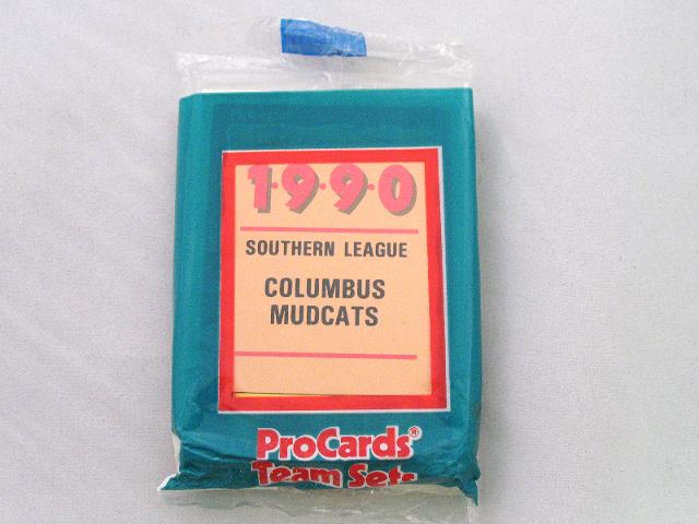1990 ProCards Columbus Mudcats Minor League Complete UNOPENED Team Set