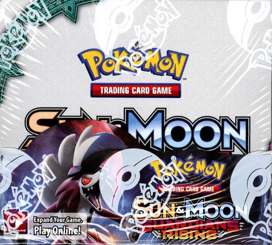 Pokemon TCG Sun & Moon Guardians Rising Sealed Booster 6 Box Case (English)