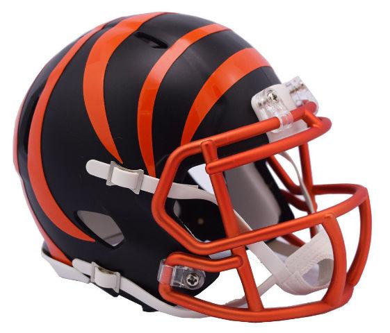 CINCINNATI BENGALS 2017 Riddell NFL Blaze Alternate Speed Mini Football Helmet