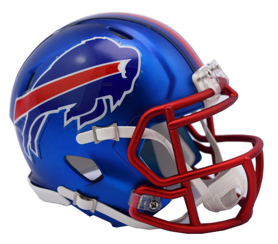 BUFFALO BILLS 2017 Riddell NFL Blaze Alternate Speed Mini Football Helmet