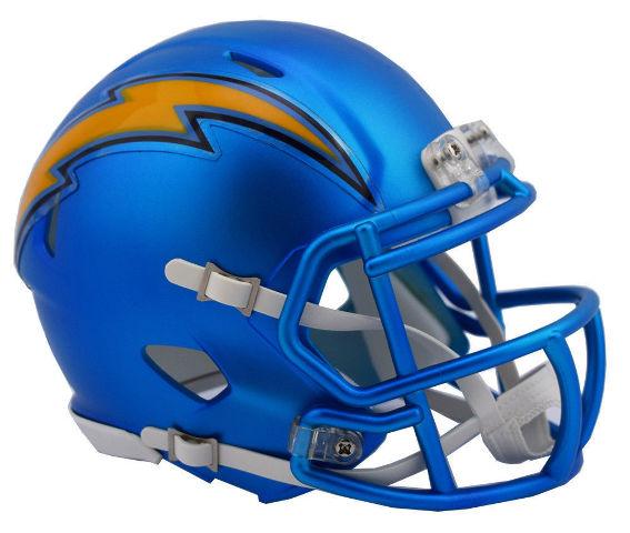 LOS ANGELES CHARGERS 2017 Riddell NFL Blaze Alternate Speed Mini Football Helmet