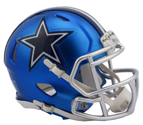 DALLAS COWBOYS 2017 Riddell NFL Blaze Alternate Speed Mini Football Helmet