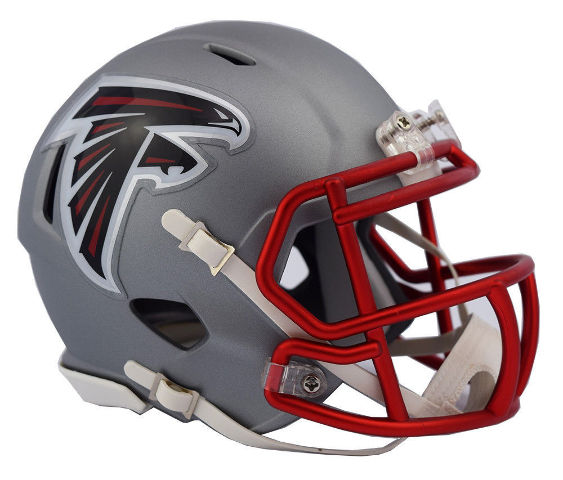 ATLANTA FALCONS 2017 Riddell NFL Blaze Alternate Speed Mini Football Helmet