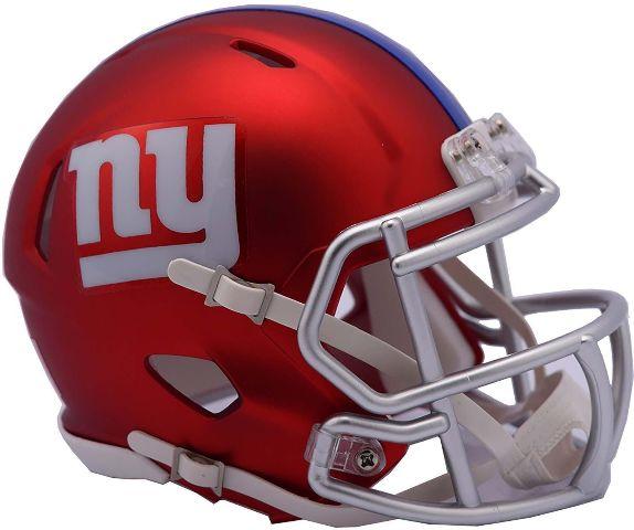 NEW YORK GIANTS 2017 Riddell NFL Blaze Alternate Speed Mini Football Helmet