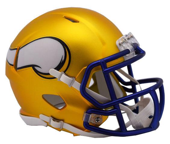 MINNESOTA VIKINGS 2017 Riddell NFL Blaze Alternate Speed Mini Football Helmet