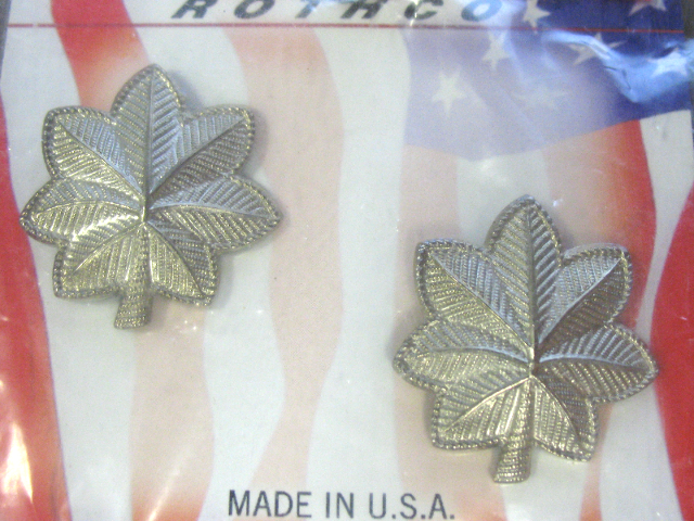 Rothco Army & Air Force Rank Insignia Lt. Colonel Regulation Size Pair Anodized