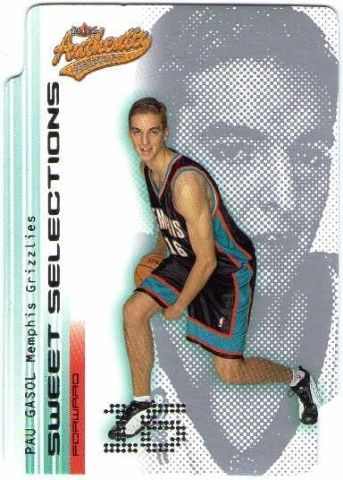 Basketball 2001-02 01/02 Fleer Authentix Sweet Selections Complete Set 1-15 Card