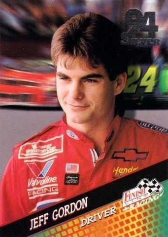 1994 Finish Line Silver NASCAR Racing Complete Base Set #1-150 Earnhardt Cards