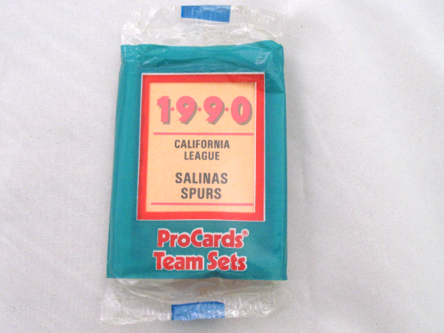 1990 ProCards Salinas Spurs California Minor League Complete UNOPENED Team Set